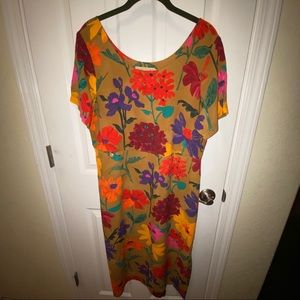 Jams World Fall Garden dress Large